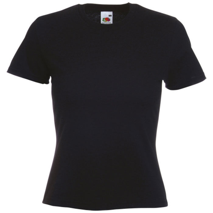 Camiseta Mujer Color VALUEWEIGHT. NEGRO TALLA S