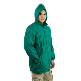 Impermeable HIPS. VERDE TALLA M/L